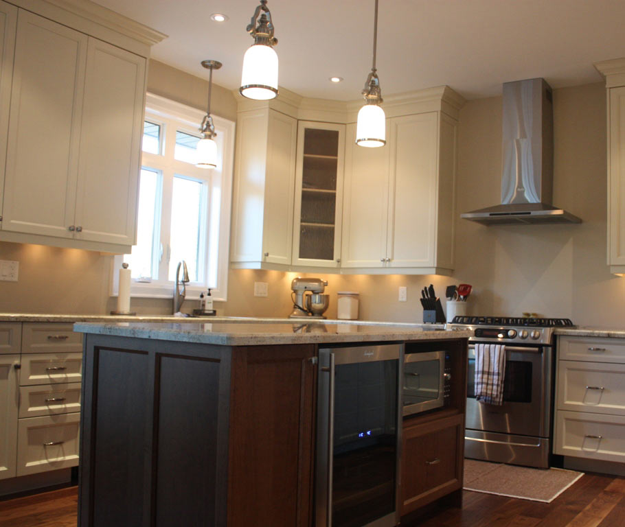Custom Kitchen Cabinets By The Mills Group